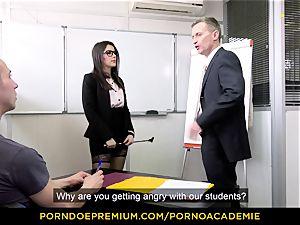 pornography ACADEMIE - educator Valentina Nappi MMF threesome