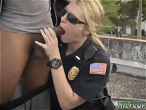faux cab threesome police and cherry crush popshot gonzo Break-In try Suspect has to
