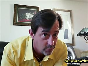 Ms Paris and Her Taboo Tales-Daddy daughter practice