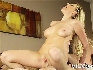 MILFGonzo hot blondie Jennifer best humping her step sonny