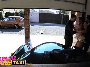 dame faux cab cool cab driver wants double facial cumshot