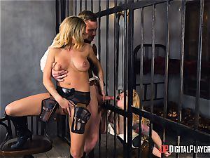 Western poon boinking with Jessa Rhodes and Misha Cross