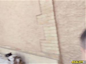 Jordi ravages a huge-boobed blondie mummy for 50 euros
