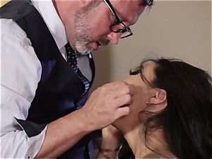 Takers pt 1 - Asa Akira arse rails old mans thick weenie