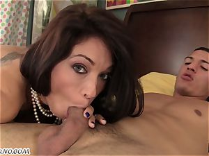 My son-in-law has grown up and ready to ravage his horny mommy