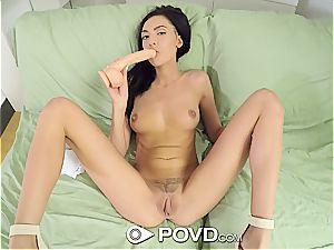 gobble Marley's vulva in pov