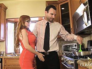 Penny Pax fucks in the kitchen