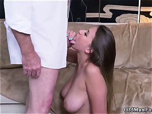 Latino daddy and bisexual hotwife dude very first time Ivy makes an impression with her immense tits and arse
