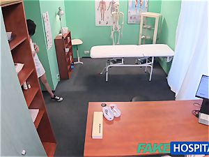 FakeHospital Minx inhales and drills to get a job