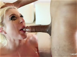 Leya Falcon wants her caboose drilled stiffer