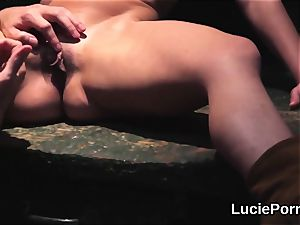 amateur girly-girl chicks get their mouth-watering vulvas munched and romped