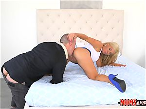 milf Parker Swayze and nubile Raylin Ann takes rock-hard penis