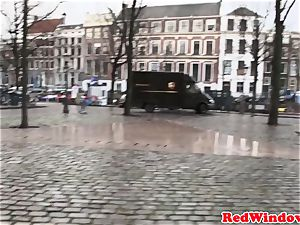 cockblowing amsterdam prostitute jizzed on