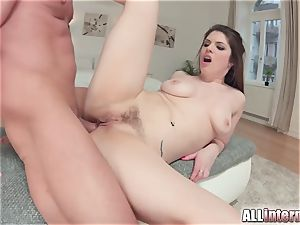 Allinternal brown-haired tastes her ass fucking internal cumshot