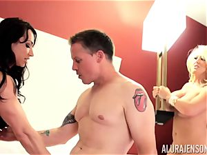 Alura Jenson and her cootchie eating friend Brandi May get into deep trouble