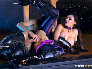 Aletta Ocean plunged with the monster fuckpole of Danny D