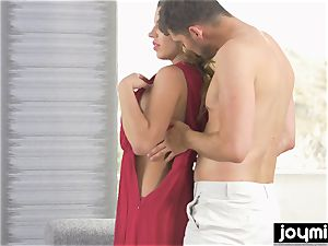 Joymii insatiable model gets nailed in the bootie after work