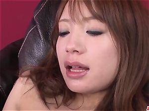 Ayaka Fujikita likes the pink cigar plunging her so rock hard