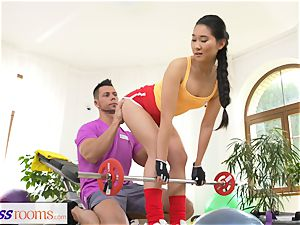 sport apartments hardcore gym pounding and facial