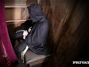 milf Rebecca Moore is ravaged by the Priest in I Confess