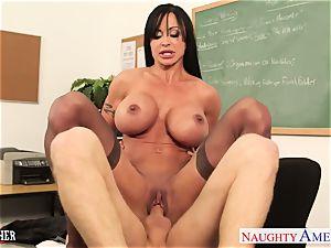 bombshell intercourse instructor clitties Jade penetrating in classroom