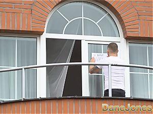 Dane Jones spycam pulverizes his wondrous neighbour