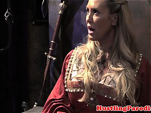 Brandi enjoy making varys inhale his geyser