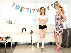 Kristen Scott gets personal with steamy stepmom Cherie Deville