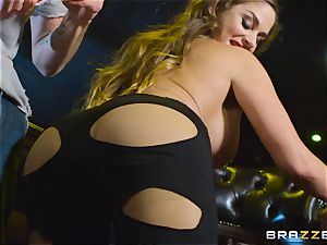 lubed up Cathy Heaven getting arse screwed