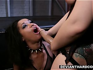 lesbian dominance and strap-on activity
