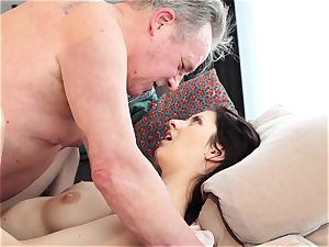 aged and young porno sweet virginal girlfriend fucked