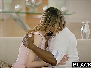 BLACKED very first multiracial For diminutive teenage Kristen Scott