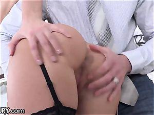21Sextury training Hazel Dew's Gape to Take big pricks
