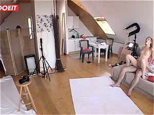 Czech teenage hottie Alexis Crystal first-ever porn Shoot